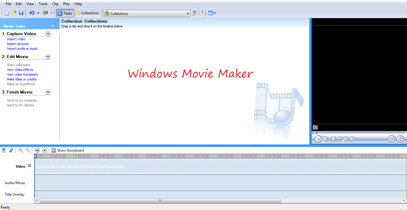 Как вставить текст в видео посредством Windows Movie Maker 30