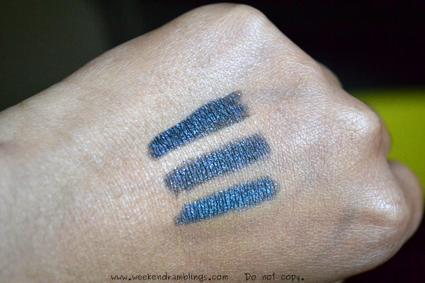 Urban Decay 24 7 Glide On Eyeliner Pencils Oil Slick Makeup Looks EOTD Swatches Reviews Ingredients Dupes