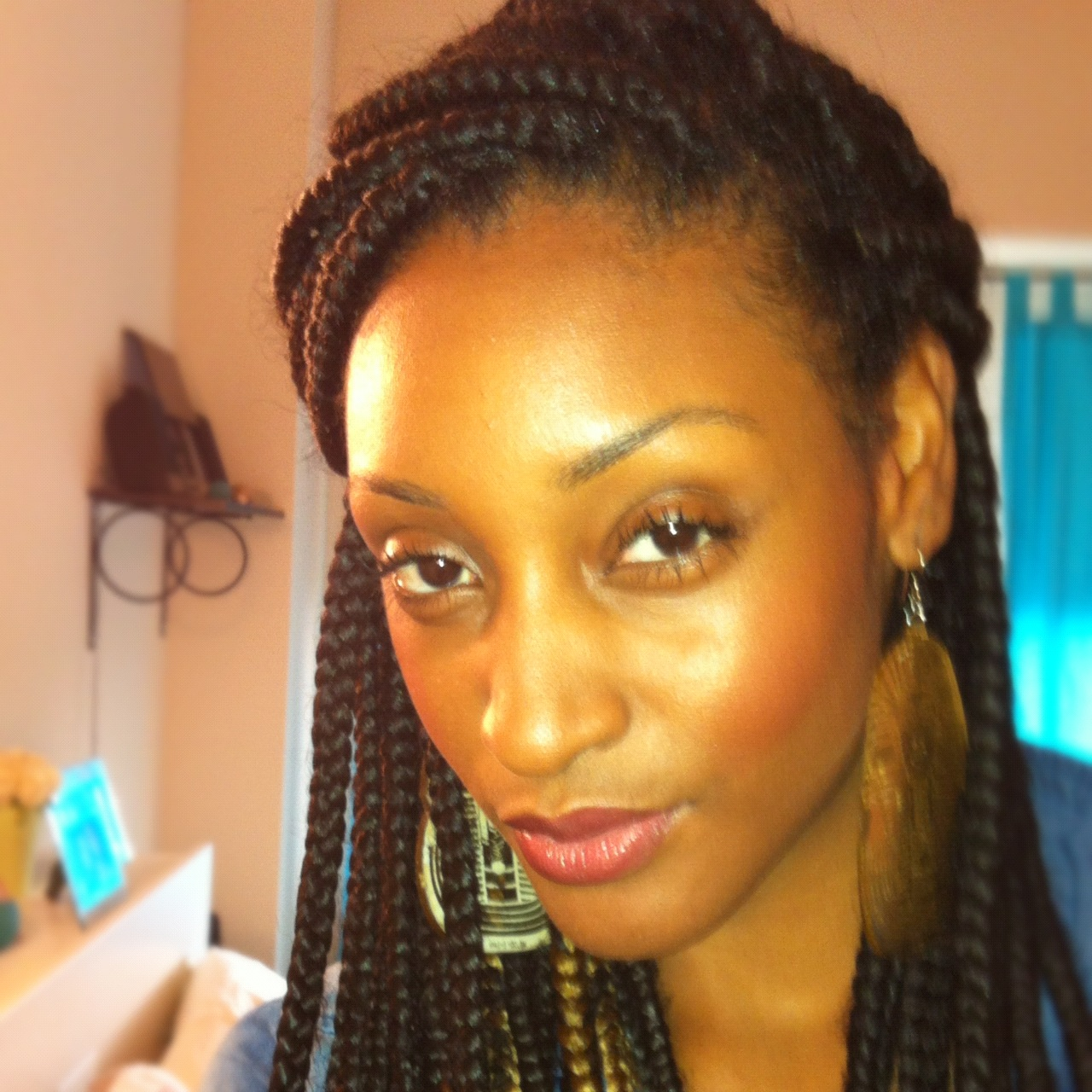 boho box braids bun wwwpixsharkcom images galleries