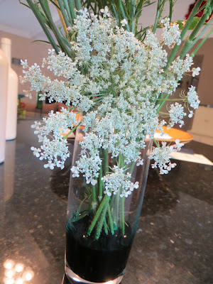 How to Color Queen Anne's Lace Flowers
