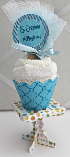 Bomboniera con asciugamano