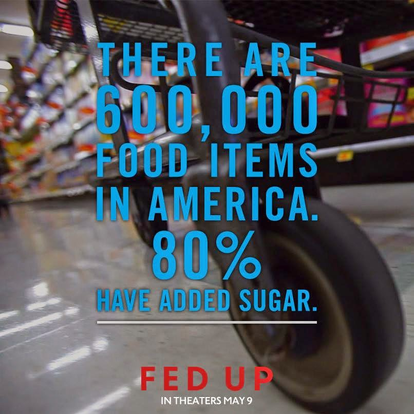 The movie Fed Up talks about the obesity epidemic in America and the role of the government in keeping people uninformed about the danger of sugar.
