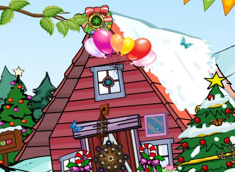 GraceGirlsGames Rescue Santa Escape