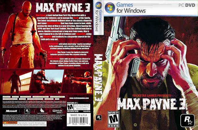 تحميل لعبة Max Payne 3 برابط واحد مباشر