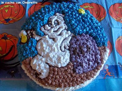 torta fantasma halloween 2013