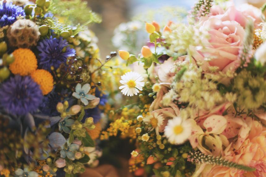 wedding field flowers bouquet melbourne