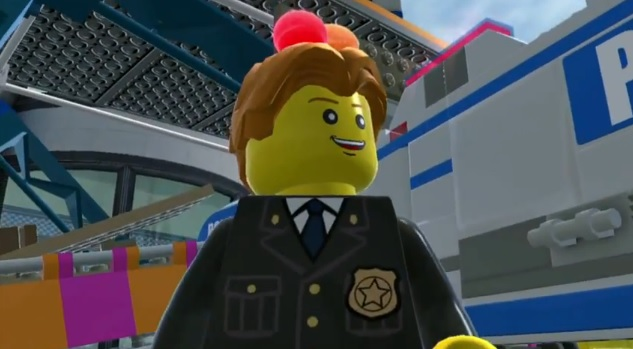 Frank Honey in the Wii U game Lego City: Undercover