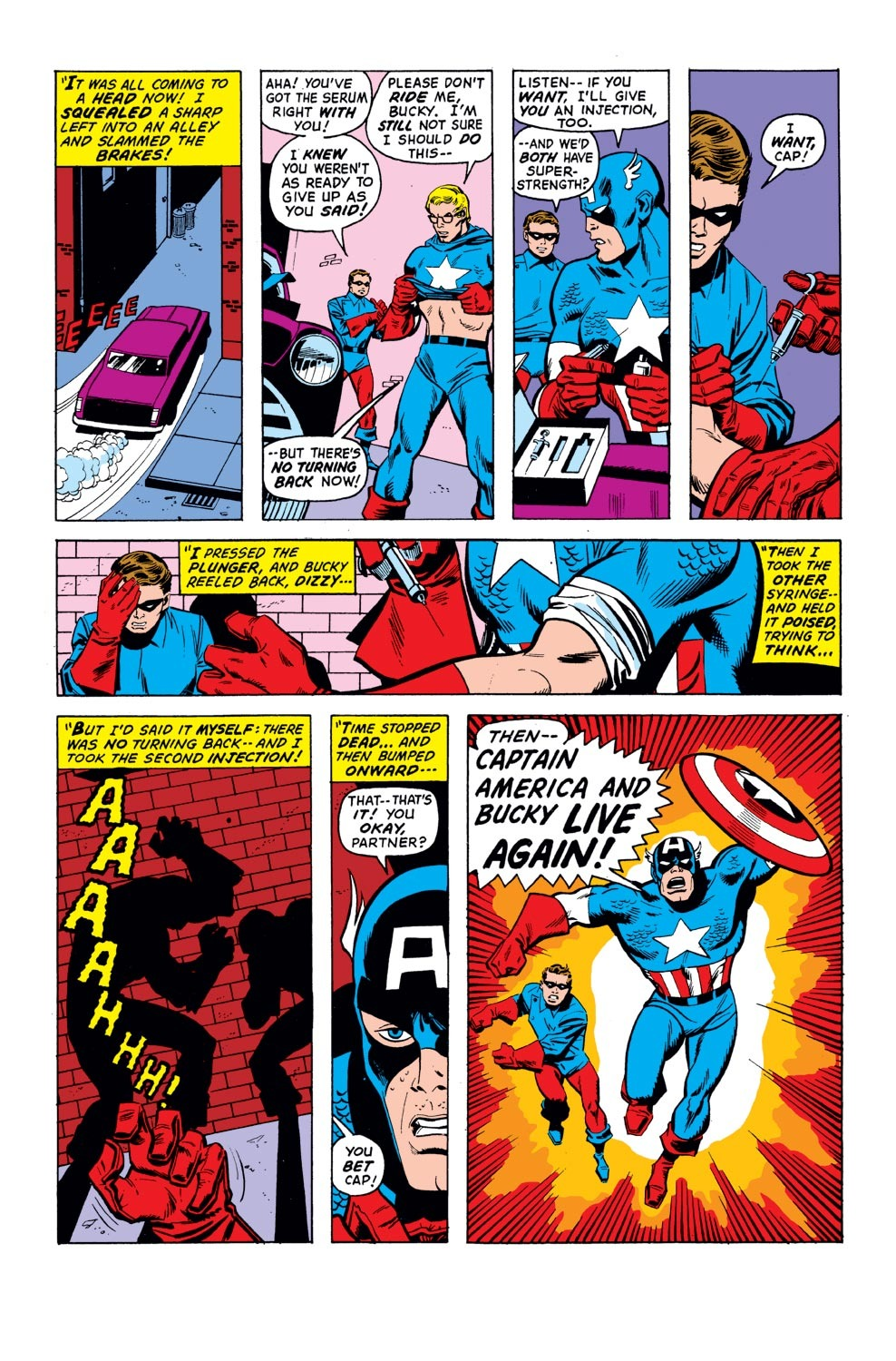 Captain America (1968) Issue #155 #69 - English 16