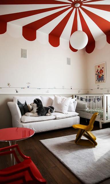 pellmell cr ations des murs originaux dans une chambre d 39 enfant. Black Bedroom Furniture Sets. Home Design Ideas