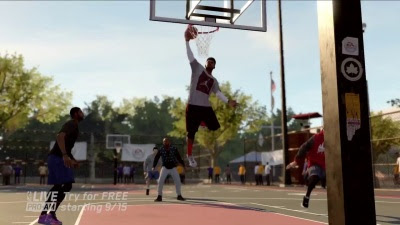 NBA Live 16 (Game) - 'Pro-Am Reveal' / Cinematic Trailer - Screenshot