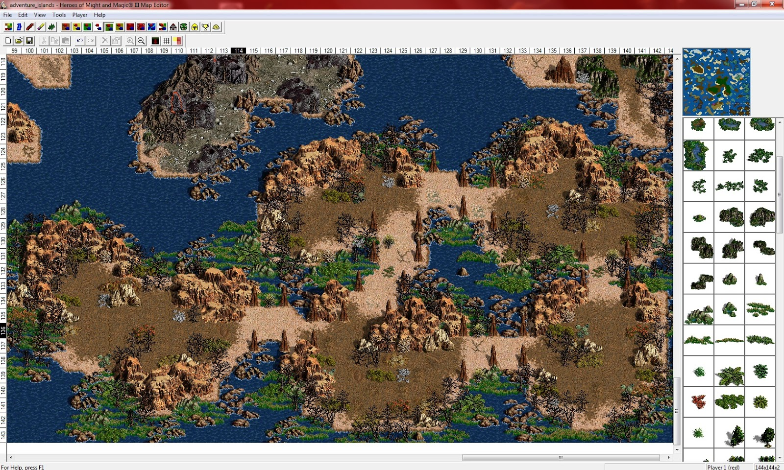 Map development log homm iii adventure islands griffintower visit the main map pack page of tane northers heroes 3 map pack to download the newest version with adventure islands and have fun gumiabroncs Gallery
