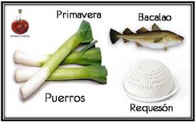 Recetario Mañoso Primavera'16: Bacalao, puerros y requesón