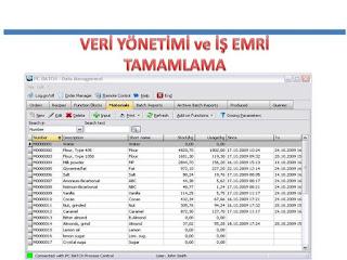 veri yönetimi ve iş emri