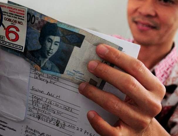 Panwascam Waru Sidoarjo Tolak Laporan Politik Uang