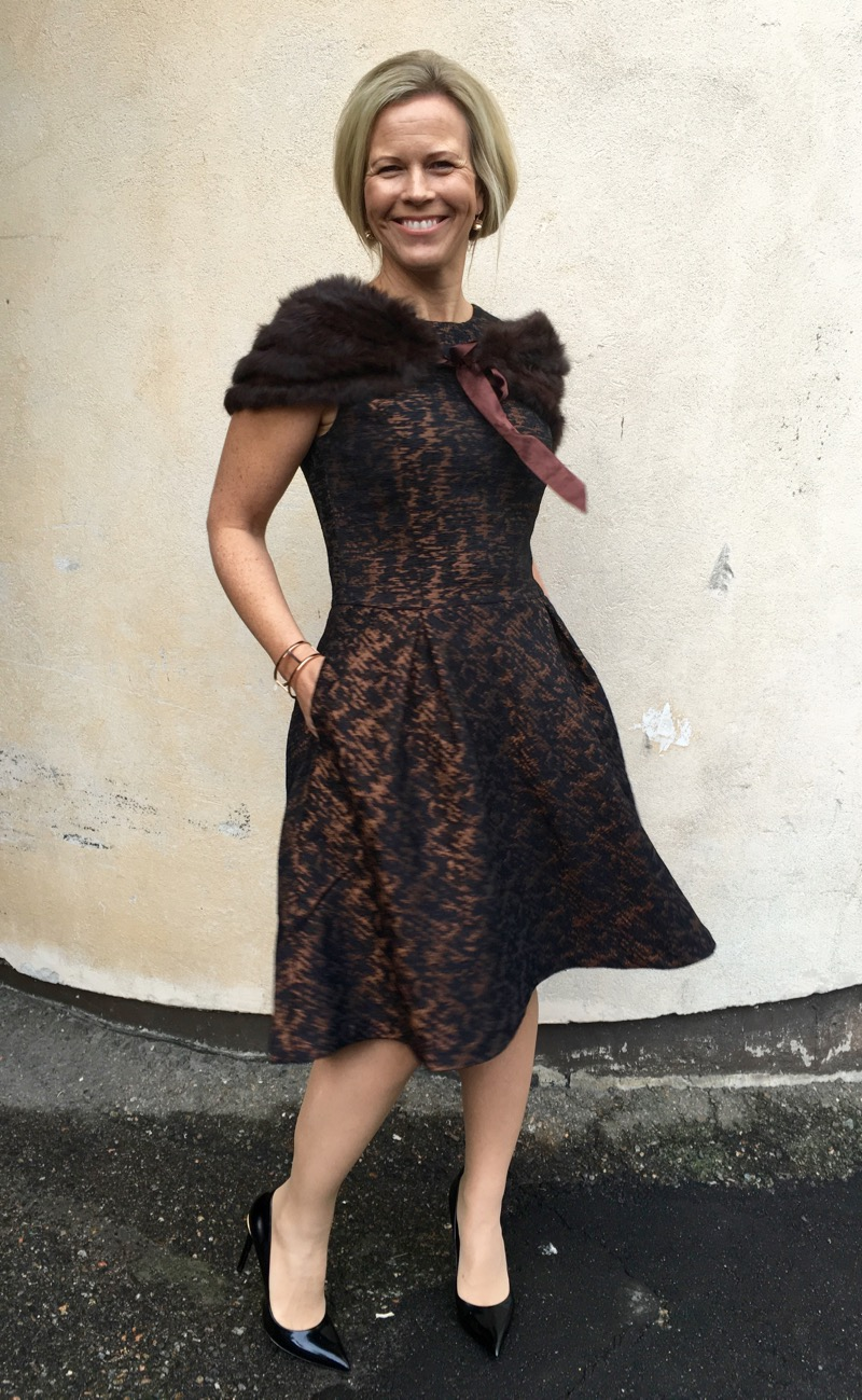 juhlava pukeutuminen Savonlinna
