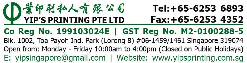 YIP'S PRINTING PTE LTD-Singapore