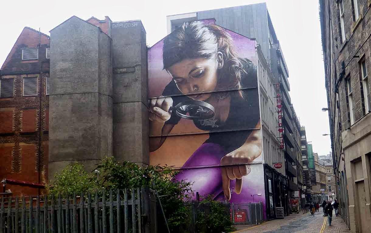 Grafiti - ulična umetnost - Page 2 Street+Mural.+Glasgow+City+Centre
