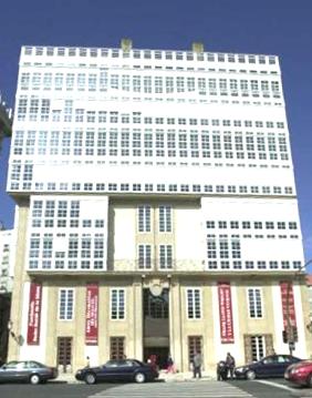 Fachada Fundación Barrié (A Coruña)