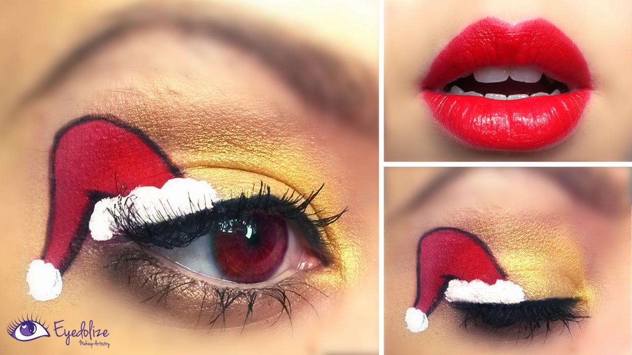 Eyedolize Makeup Christmas Makeup \u0026 Costume Ideas Part 1