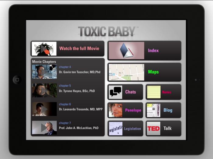 TOXIC BABY - iPAD AP