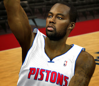 NBA 2K14 Rodney Stuckey Cyberface Mod