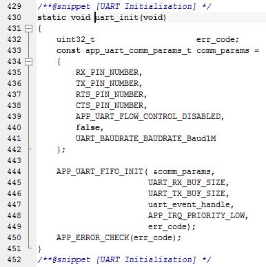 假濕汀的Blogger : nRF52832 BLE_App_Uart example code(IAR EWARM Version)