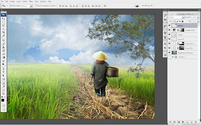 23 Tutorial Digital Imaging Dengan Photoshop