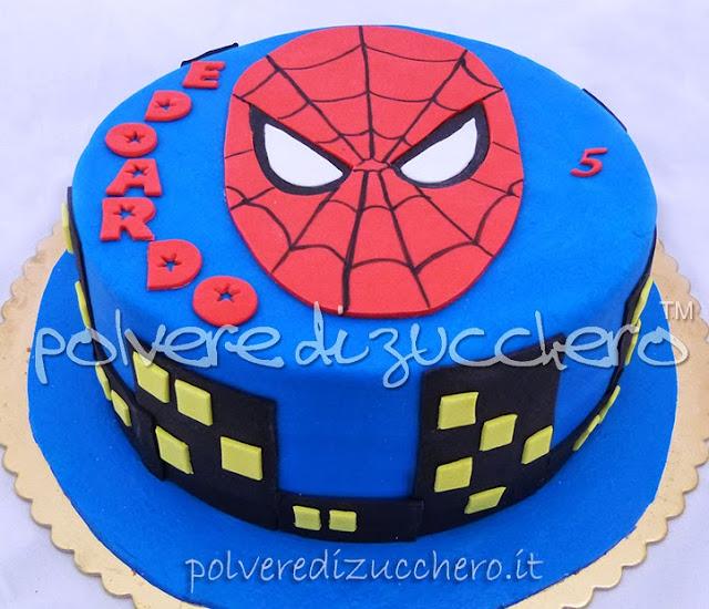 torta uomo ragno bidimensionale