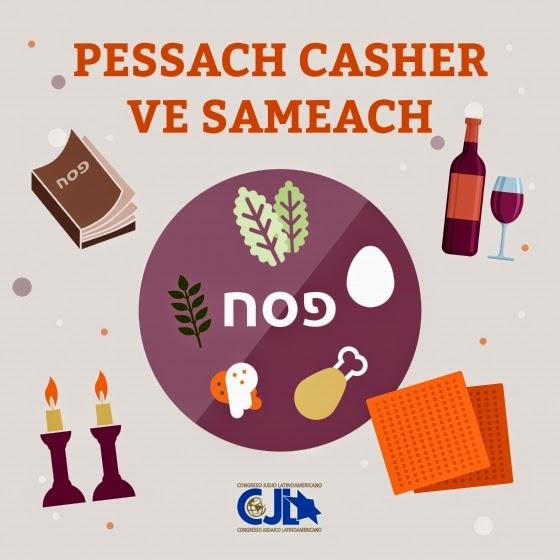 Mensagem de Pessach do CJL