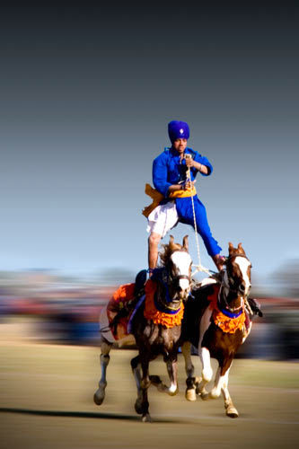 Horse Stunt, Kila Raipur Sports Festival