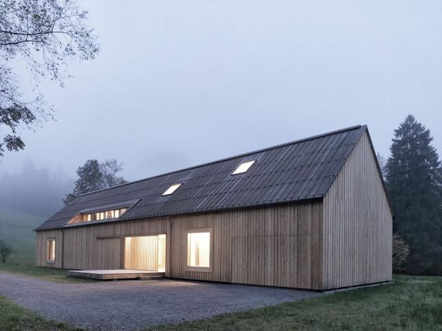 Bernardo Bader Architects, Haus am Moor