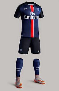 Jersey PSG home terbaru musim depan 2015 2016