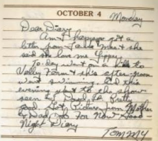 Olive Tree Genealogy Blog: Serendipity Brings Soldier's Diary Back to his Sweetheart after 70 Years