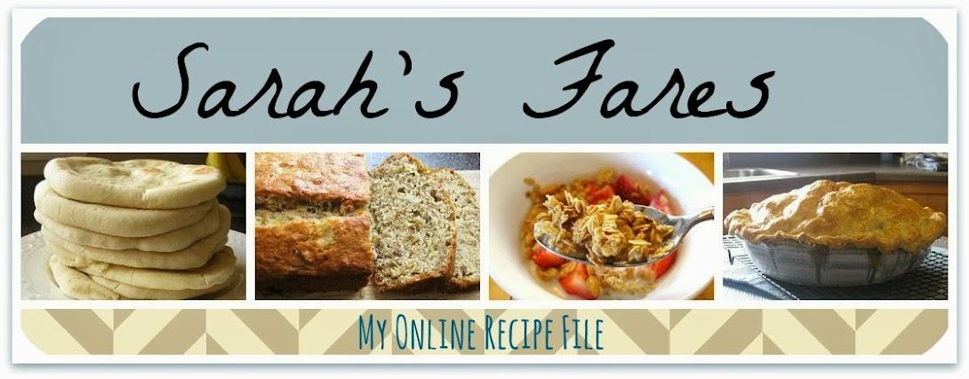 Sarah's Fares