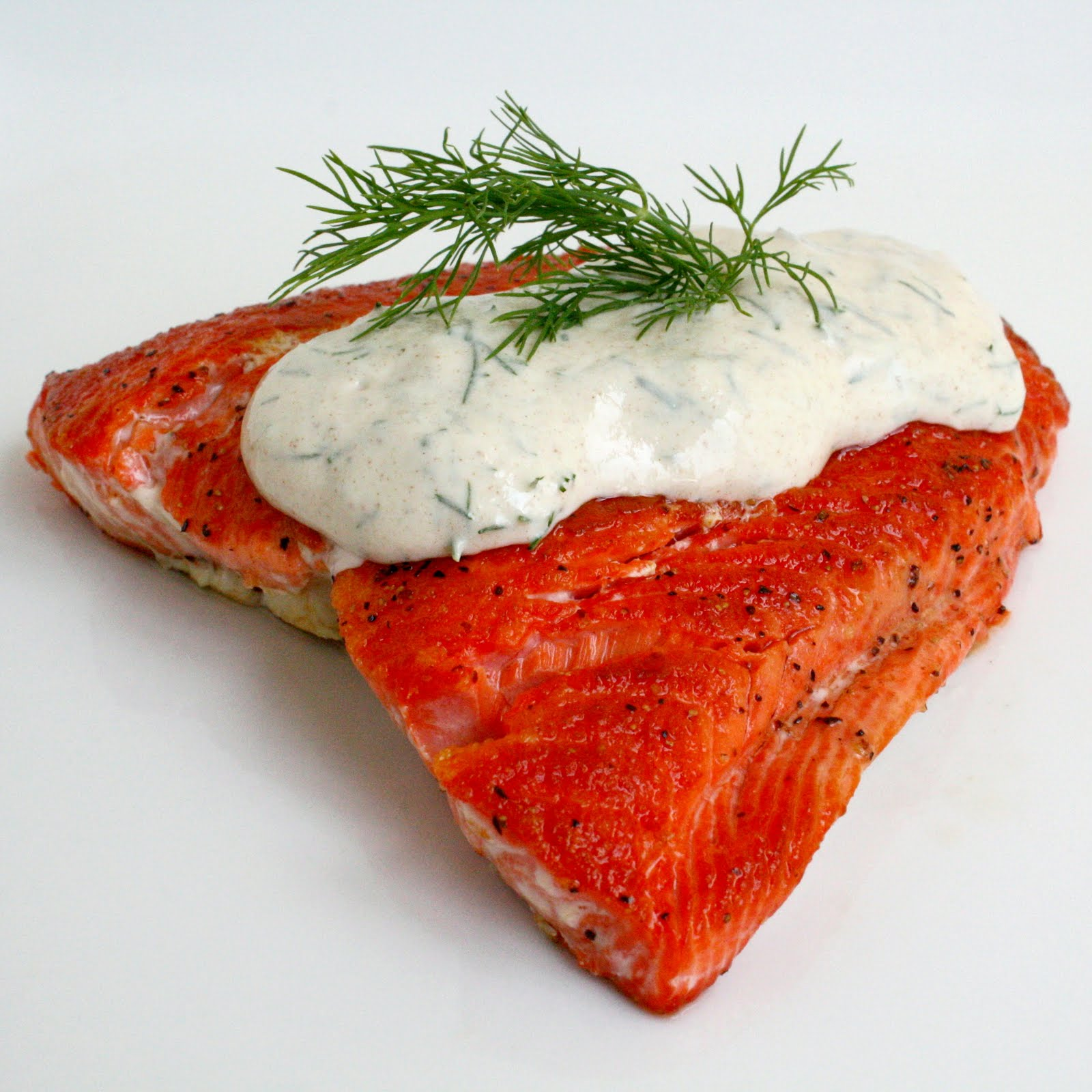Seared Salmon With Creamy Dill Sauce Recipe — Dishmaps