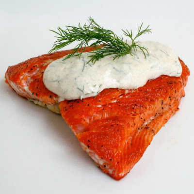 Bitchin' Kitchen: Seared Salmon with Dill Dijon Sauce