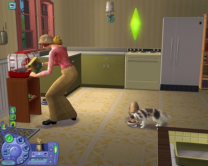 احدث العاب الفكاهة والاثارة The Sims 2 Pets كاملة حصريا تحميل مباشر The+Sims+2+Pets+1