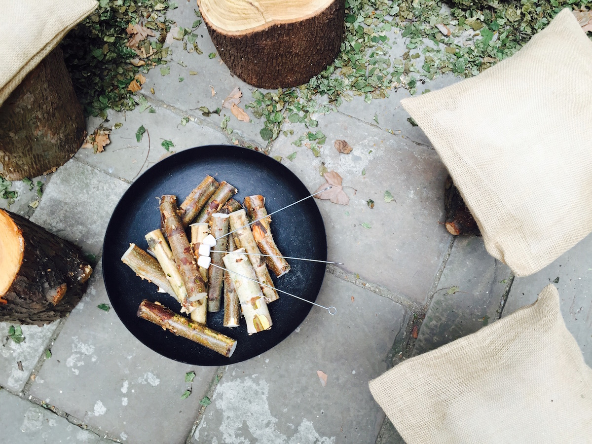 toasting marshmallow at the cath kidston aw15 press day