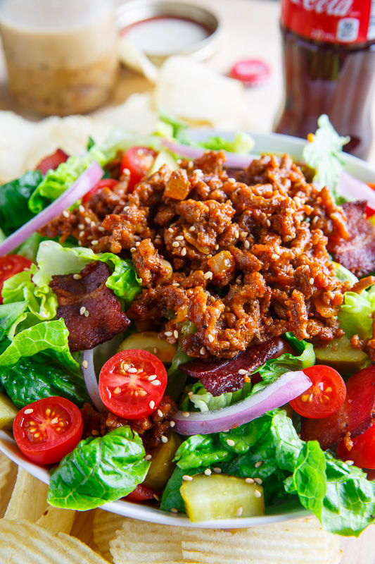 Bacon Cheeseburger Salad