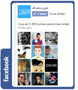 اضافة صندوق اعجاب الفيسبوك عائم في مدونة بلوجر