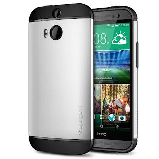 Spigen [SLIM & PROTECTIVE CASE] Slim Armor Case SERIES for HTC One M8 (2014)