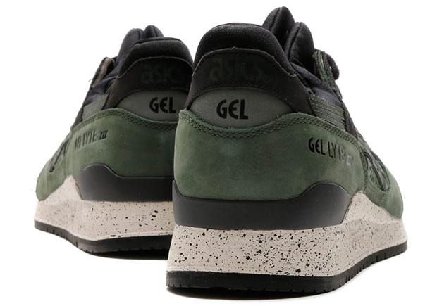asics gel lyte iii (grau/schwarz/seegr
