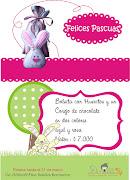 Para que celebres el día de pascua de resurrección con un lindo detalle para . afiche conejos de pascua