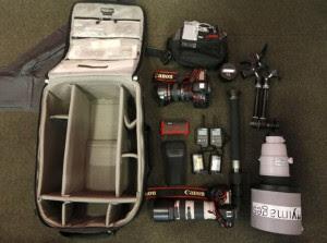 Peralatan fotografi wajib seorang fotografer olah raga