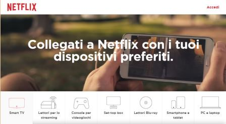 smart tv compatibili con netflix