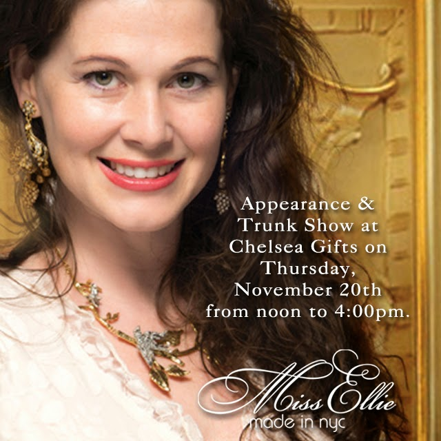 Miss Ellie In-Store Appearance and Trunk Show at Chelsea at The Grove Poster