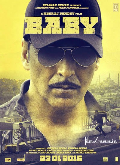 Baby (2015) Hindi Movie First Look Poster