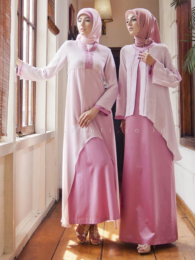 ''model Baju Gamis Trendy 2015