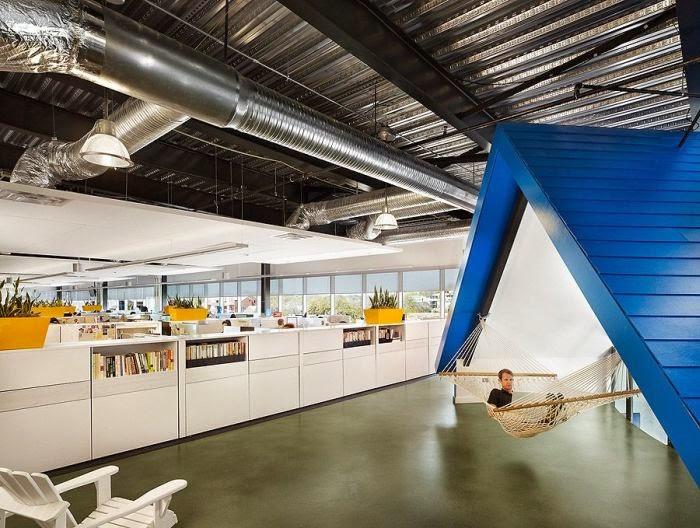 oficinas espectaculares, Homeaway, Texas