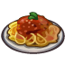 Castleville Plate of Spaghetti Craftable